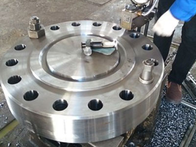 blind flange manufacturing in our mumbai plant